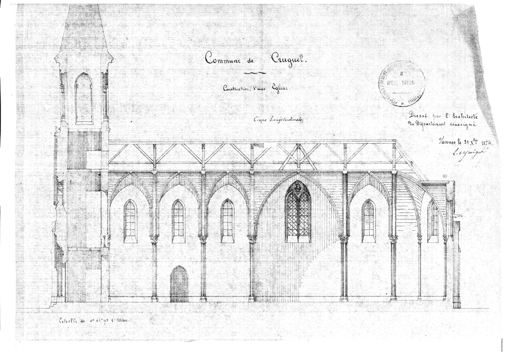eglise plan